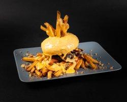 Burger cheesy image