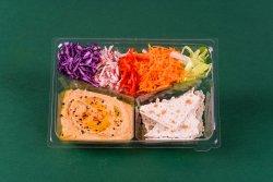 Crudități & Hummus & Crackers