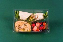 Rulou cu quinoa & Hummus & Fructe și nuci