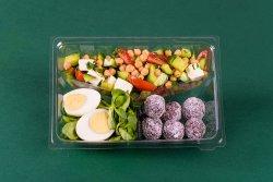 Salata de naut & Ou & Energy balls