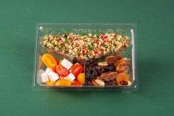 Tabbouleh & Feta și roșii & Fructe, nuci