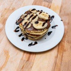 Pancakes Nutella și fructe