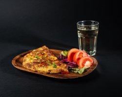 Omletă ardelenească + sifon cu sirop de soc  image
