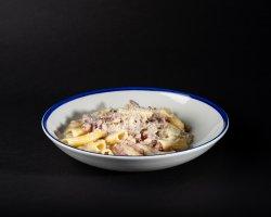 Paste cu brânză, bacon și smântână image