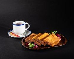 Pită-n ou - bundas kenyer + ceai image