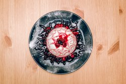 Panna cotta - fructe de padure image