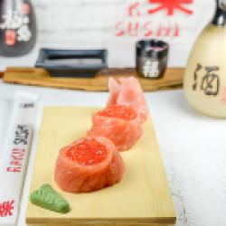 Gunkan Sake& Ikura image