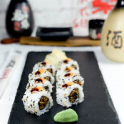 Uramaki Sake& Abokado Roll 8 pcs image