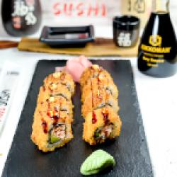 Roll Tempura Salmon Avocado 8pcs image