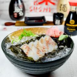 Sashimi 5 pcs Suzuki/ Wild Sea Bass image