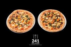 Pizza Vegetariana 1+1