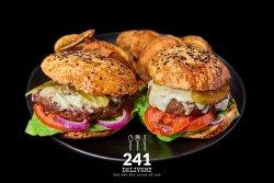 Burgeru` cu Branza 1+1