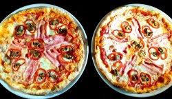 Pizza Ardei Bacon 1+1