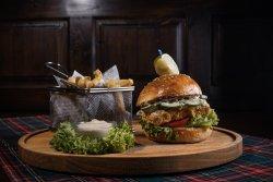 Crispy Fried Fish Burger image