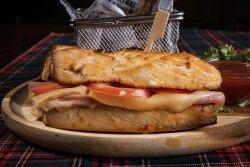 Ham, Cheese & Tomato image