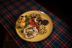 Grilled Chicken Breast with Grilled Vegetables image