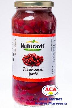 naturavit fasole rosie fiarta 570gr