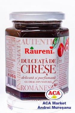 raureni dulceata de cirese 350gr