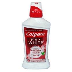 apa de gura colgate max white 500 ml