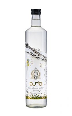 aura gold water 750ml carbo