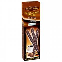 ciocolata sticks cafea 75g maitre truffout