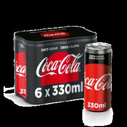 coca cola zero doza 6pack