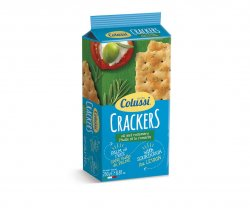 colussi crackers ulei masline 250gr