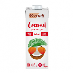 lapte de cocos eco mil fara zahar 1l