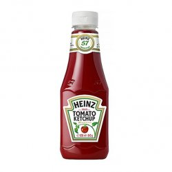heinz ketchup top up 342g
