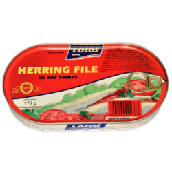 hering file in sos tomat losos 175gr