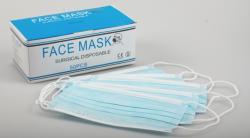 masca protectie 50buc 3straturi albastre