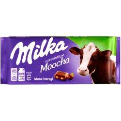 ciocolata milka cu alune intregi 100 g