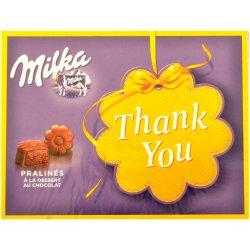 milka thank you praline 120gr