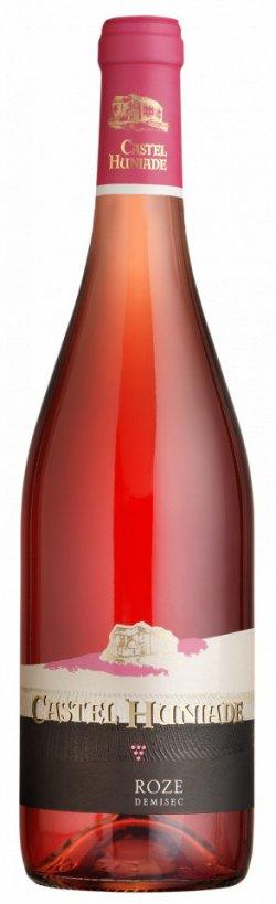 castel huniade vin roze 750 ml image