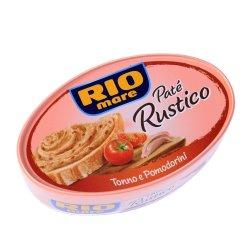 pate rio mare rustico rosii 115gr