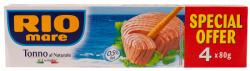 rio mare ton in suc propriu 4 x 80gr