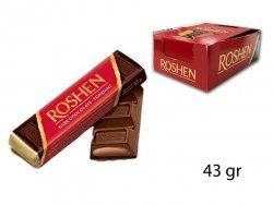 roshen bars dark chocolate 43gr
