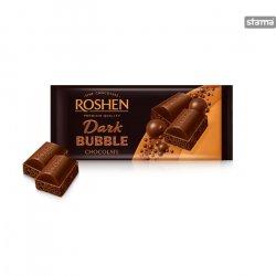 roshen bubble dark chocolate 80g