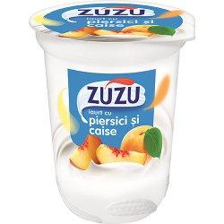 zuzu iaurt piersici si caise 400 gr
