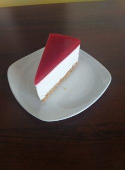 Cheesecake cu piure de zmeura   130G image