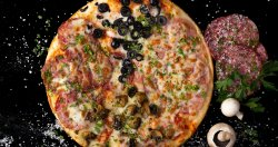 Pizza 1+1 Quattro stagioni 35 cm
