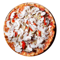 Pizza Vegetariana medie