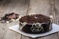 Tort Chocolate Triology felie