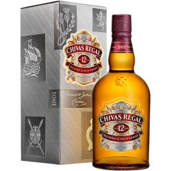Blended Scotch Whisky 12 Years Old 0.7l Chivas Regal