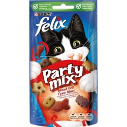 Purina Felix Party Mix Mixed Grill Hrana complementara pentru pisici 60g image