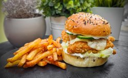 Crispy-Chicken Burger