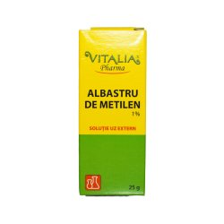 Albastru de metilen 1%, 25 g, Vitalia