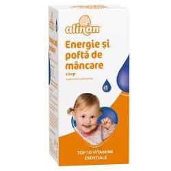 Alinan Energie si pofta de mancare, sirop, 150 ml, Fiterman