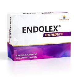 Endolex Complex, 30 comprimate filmate, Sun Wave Pharma