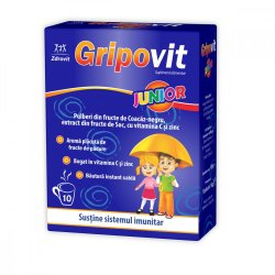 Gripovit Junior, 10 plicuri, Zdrovit